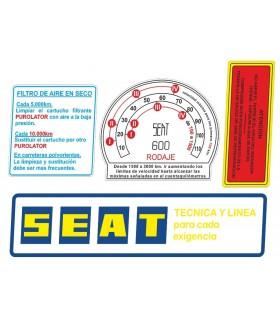 KIT SEAT 600