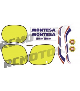 KIT PEGATINAS MONTESA H7 80
