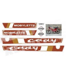 PEGATINAS MOBYLETTE CADY GAC