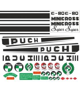 PEGATINAS PUCH MINICROSS E-80