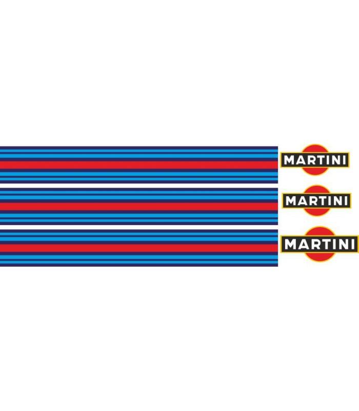 PEGATINAS VESPA MARTINI