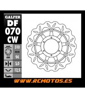 DISCO DE FRENO CBR 600 RR FLOTANTE GALFER