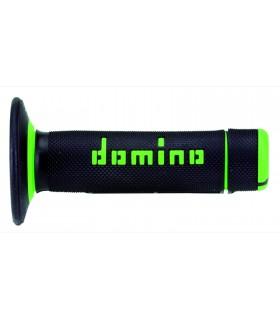 Puños Domino cross / enduro negro verde