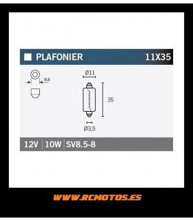 12V 10W 11X35