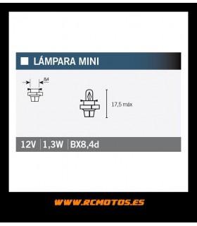 12V 1,3W BX8,4D